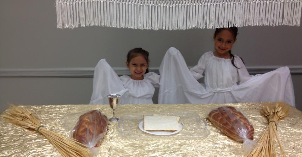 Ariza girls at Shavuot