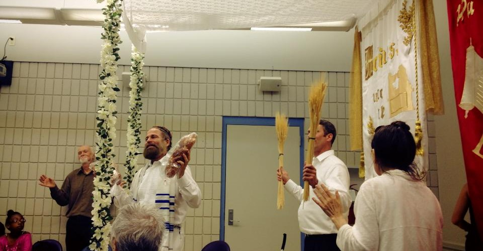 Waving of wheat/loaves at Shavuot