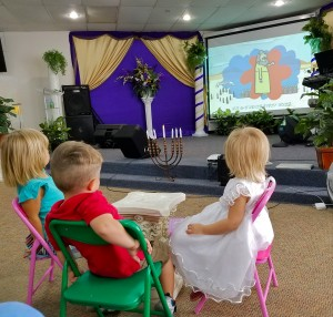 Children's ministry with Torah video
